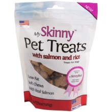 My Skinny Pet Treats Dog Chews in Salmon W/Rice - Closeouts