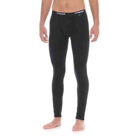 MyPakage First Layer Base Layer Pants - Merino Wool (For Men) in Black/Black - Closeouts