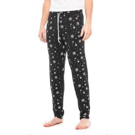 MyPakage Snowy Night Unisex Sleep Pants (For Men and Women) in Snowy Night