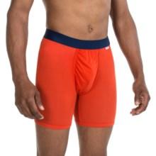 MyPakage Weekday Boxer Briefs (For Men) in Orange/Navy - Closeouts