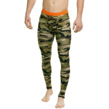 MyPakage Weekday Long Underwear Bottoms - Lightweight (For Men) in Camo/Orange - Closeouts