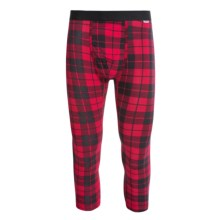MyPakage Weekday Printed Cropped Underwear Bottoms (For Men) in Hunter/Plaid/Black - Closeouts