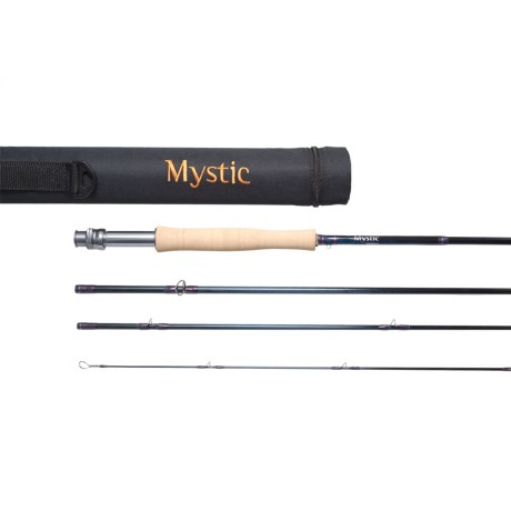 Mystic Sapphyre Fly Rod - 4-Piece, 9' (For Women) in See Photo