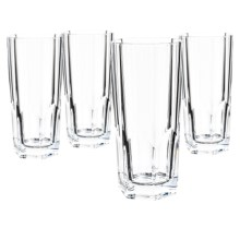 Nachtmann Aspen 11 fl.oz. Longdrink Glasses - Set of 4 in Glass - Overstock