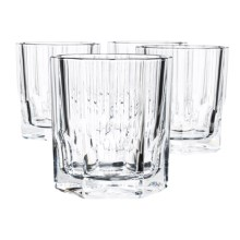 Nachtmann Aspen Whisky Tumblers - Bavarian Crystal, Set of 4 in See Photo - Overstock