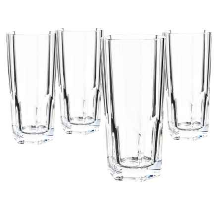 Nachtmann Bavarian Crystal Longdrink Glasses - 11 fl.oz., Set of 4 in Glass - Overstock