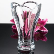 "Nachtmann Calypso Crystal Vase - 10.5"", Lead-Free in See Photo - Overstock"