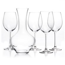 Nachtmann Vivendi Wine Decanter Set - 5-Piece, Bavarian Crystal in See Photo - Overstock