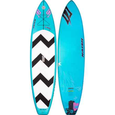 "Naish Alana Air Inflatable Stand-Up Paddle Board -11'6"" (For Women) in See Photo - Closeouts"