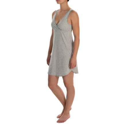 Naked Essential Chemise - Sleeveless (For Women) in Metro Gray - Closeouts