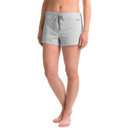 Naked Essential Cotton Stretch Shorts (For Women) in Metro Grey - Closeouts