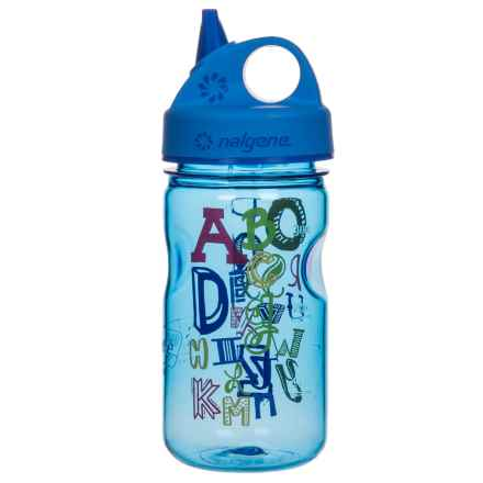 Nalgene Grip-N-Gulp Water Bottle - 10 fl.oz. (For Kids) in Abc - Closeouts