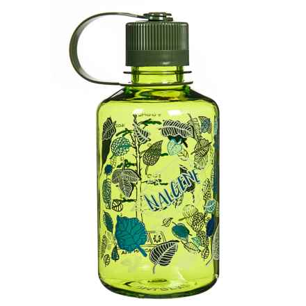Nalgene Narrow Mouth Water Bottle - 16 oz., BPA-Free in Spring With Old Growth Leaves - Closeouts