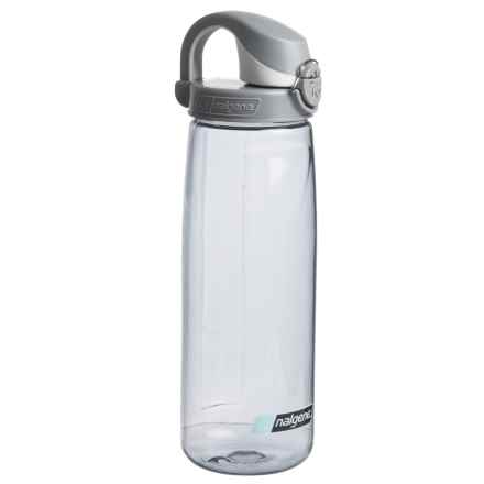 Nalgene On the Fly Water Bottle - 24 fl.oz., BPA-Free in Grey/Silver - Closeouts