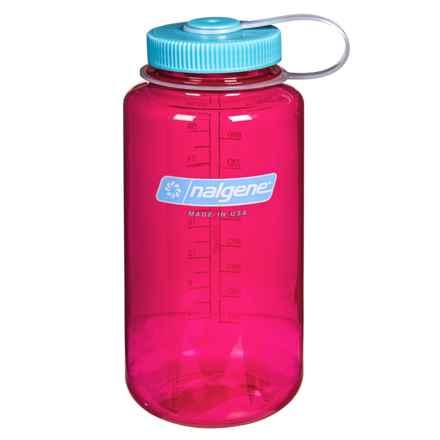 Nalgene Wide-Mouth Tritan Water Bottle - 32 oz., BPA-Free in Berry - Closeouts