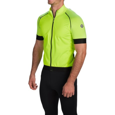 Nalini Agnedo Windproof Jacket Removable Short Sleeves (For Men)