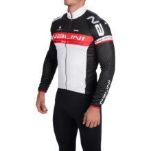 Nalini Ossana Cycling Jersey - Full Zip, Long Sleeve (For Men) in Black/White - Closeouts