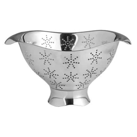 Nambe Curvo Colander - Stainless Steel in See Photo - Closeouts