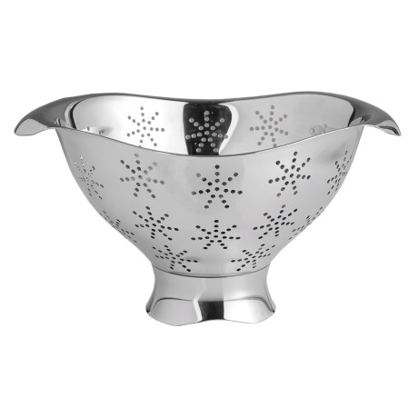 Nambe Curvo Colander - Stainless Steel