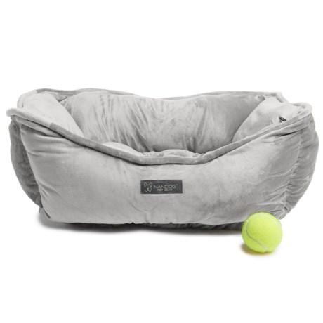 "Nandog Pet Gear Reversible Pet Bed - 23x19"" in Light Grey"