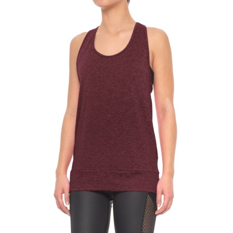 Nanette Lepore Active Mesh Tank Top (For Women) in Beet