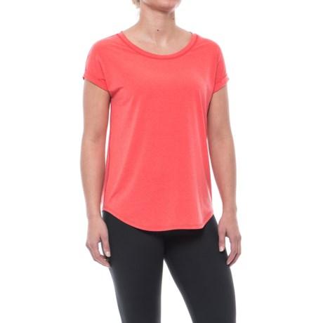 Nanette Lepore Broken-In T-Shirt - Short Sleeve (For Women) in Flame