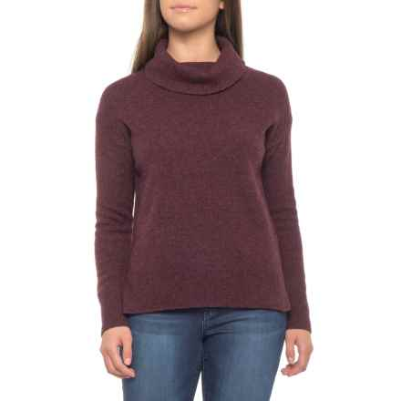 Nanette Lepore Yak Wool Turtleneck Sweater (For Women) in Raisin Heather - Closeouts