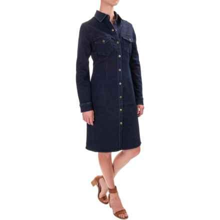 NANETTE Nanette Lepore Get Lucky Denim Dress - Long Sleeve (For Women) in Indigo - Closeouts