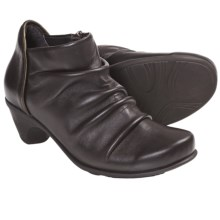 Naot Advance Ankle Boots - Leather (For Women) in Cafe/Dime - Closeouts