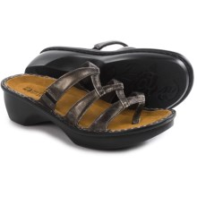 Naot Bilbao Leather Sandals (For Women) in Metal Leather - Closeouts