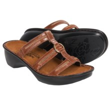 Naot Brasilia Leather Sandals (For Women) in Acropolis Leather - Closeouts
