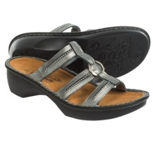Naot Brasilia Leather Sandals (For Women) in Sterling Leather - Closeouts