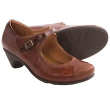 Naot Cardinal Mary Jane Shoes (For Women) in Luggage Brown - Closeouts