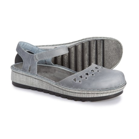 fd033ef51cdfb Naot Celosia Shoes - Leather (For Women) in Vintage Slate Leather