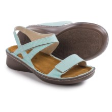 Naot Harp Leather Sandals (For Women) in Sea Pearl Leather - Closeouts