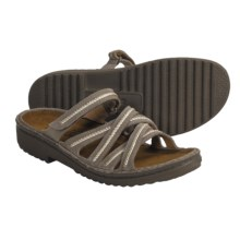 Naot Loten Sandals - Low Scandinavian Collection (For Women) in Clay Nubuck - Closeouts
