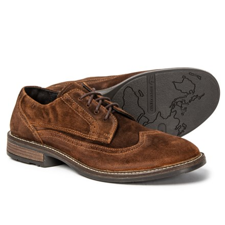 2cdf33bf3624 Naot Magnate Suede Oxford Shoes (For Men) in Seal Brown Suede