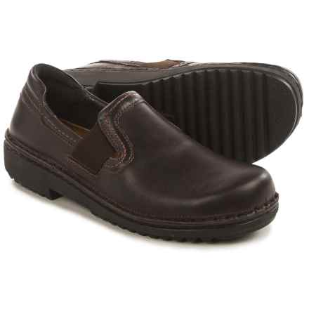 Naot Malmo Slip-On Shoes - Leather (For Women) in French Roast - Closeouts