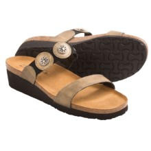 Naot Marissa Sandals - Leather (For Women) in Brass - Closeouts