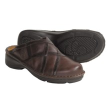 Naot Nolara Leather Clogs (For Women) in Toffee - Closeouts