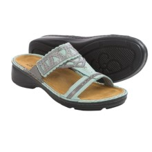 Naot Oleander Sandals - Leather (For Women) in Celadon - Closeouts