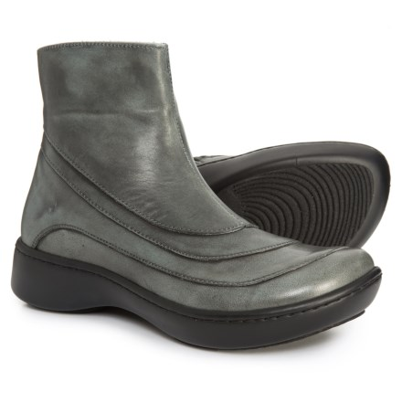 c8d345f39001 Naot Tellin Wedge Booties - Leather (For Women) in Vintage Smoke Leather