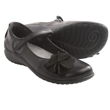 Naot Totki Mary Jane Shoes (For Women) in Jet Black/Shadow
