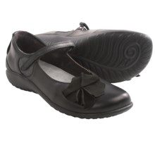 Naot Totki Mary Jane Shoes - Leather (For Women) in Jet Black/Shadow - Closeouts