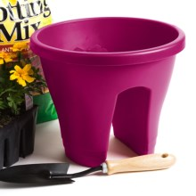 "Napa Home & Garden Corsica Flower Bridge Planter - 12"" in Cherry - Closeouts"