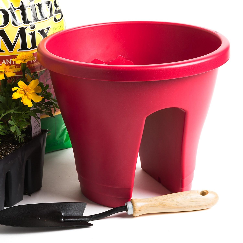 napa home garden corsica flower bridge planter 12 save 35. Black Bedroom Furniture Sets. Home Design Ideas