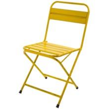Napa Home & Garden Penny Garden Cafe Chair in Yellow - Closeouts