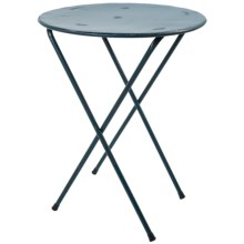 "Napa Home & Garden Penny Garden Cafe Table - 25"" in Blue - Closeouts"