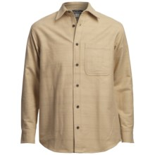 Narragansett Trader Chamois Shirt - Long Sleeve (For Men) in Tan - 2nds