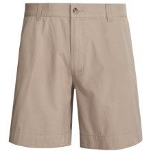 Narragansett Trader Cotton Canvas Shorts (For Men) in Khaki - Closeouts